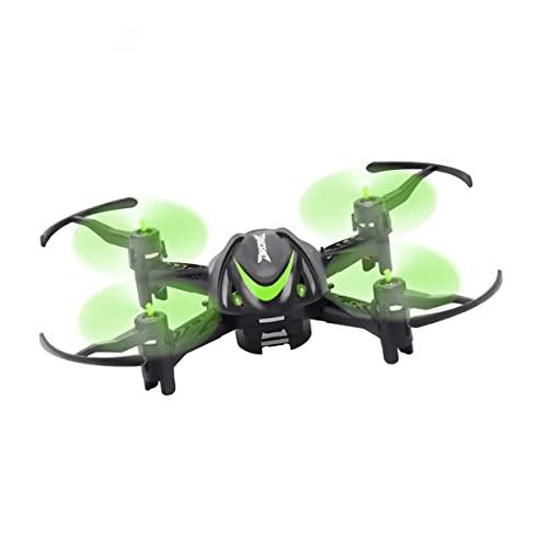 Mini Drone Per Adulti E Bambini, Quadricottero RC Con Mantenimento Dell'altitudine, Capovolgimento 3D, Funzione A Un Tasto, Luci Notturne, Facile Da Pilotare Per Principianti, I Migliori Regali,Verde