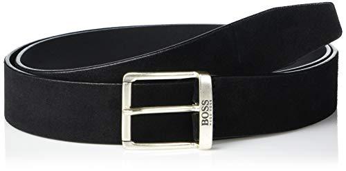 Hugo Boss Herren Joni-Sd_Sz35 10212290 01 Gürtel, Carbon schwarz, 115 cm