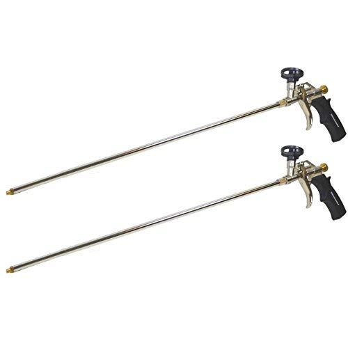 2 Pack - AWF Pro Professional Spray Foam Gun, 2 ft Long Nozzle