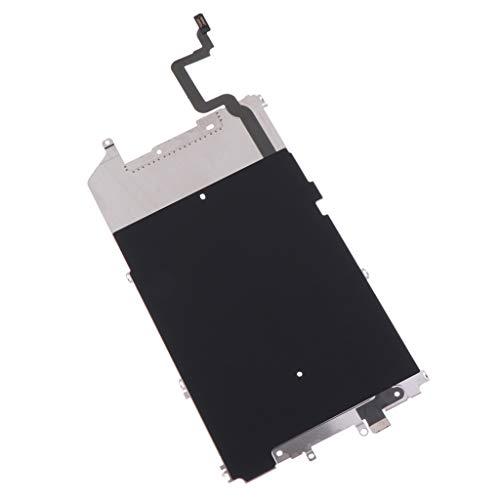 F Fityle 1x Placa Cubierta de Pantalla de Metal LCD Accesorios para Smartphone Conecta con iPhone - iPhone 6 Plus