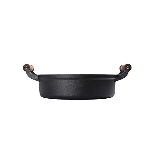 XXDTG Hierro Fundido sartén Crepe Pan Pan sin Recubrimiento sartén Cocina de inducción Universal Utensilios de Cocina