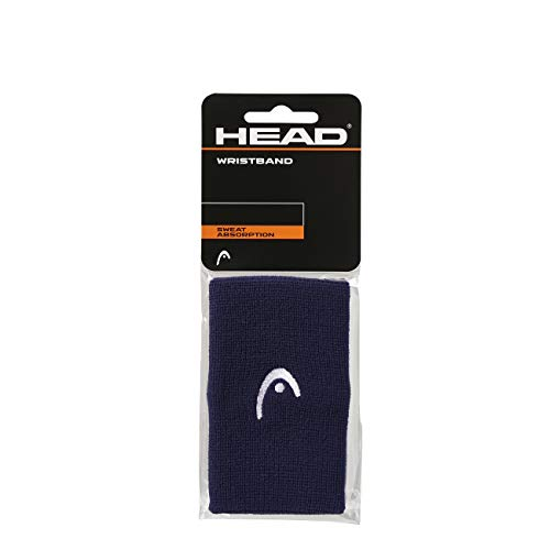 "HEAD Polsino da 5"", Accessori Tennis Unisex Adulto, Navy, taglia unica"