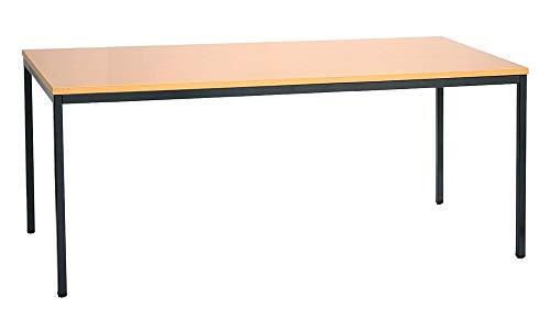 Konferenztisch Schreibtisch Besprechungstisch Seminartisch Mehrzwecktisch Bürotisch 200x100 cm Buch