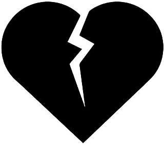 Best broken heart sticker Reviews