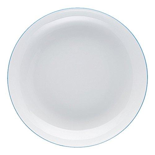 Arzberg Cucina Suppenteller, Suppen Teller, Porzellanteller, Colori Blue, Porzellan, 22 cm, 42100-670663-10322