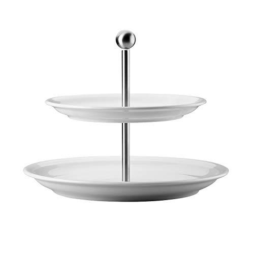 Thomas Trend Etagere 2tlg/Tel.FL, Porcelain, Zentimeter