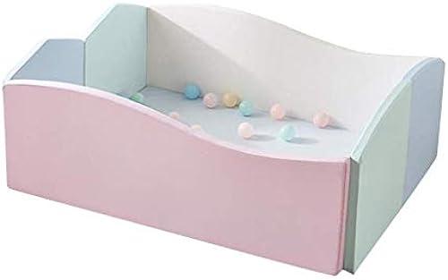 FJIE Kinder Playen, Kinderspiel-Zaun, Starker 6CM Innensoftware-Zaun Für Wohnzimmer, 120X100X50CM