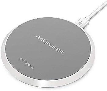 RAVPower Qi Certified 10W Fast Wireless Charging Pad
