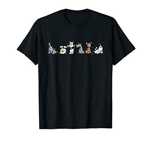 Happy Hunde Team I Hunde Comic I Hundefreund Fun Geschenk T-Shirt