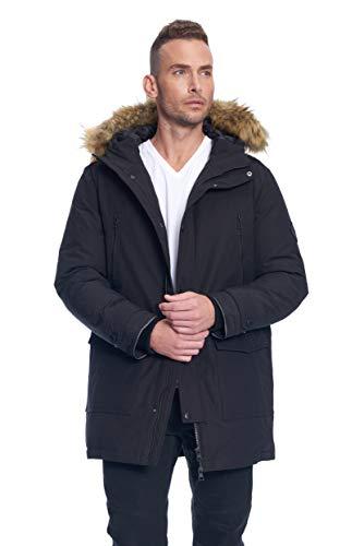 Alpine North Men's Vegan Down Drawstring Winter Jacket