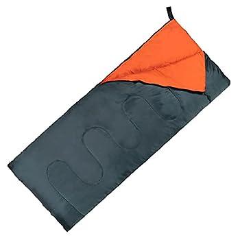 Un sac de couchage chaud touriste 3 saisons ? Polyester Coton Fibre creuse ? Sac de couchage Couverture ? 180 x 75 cm ? Unisexe ? Tourisme et extérieur (Vert)