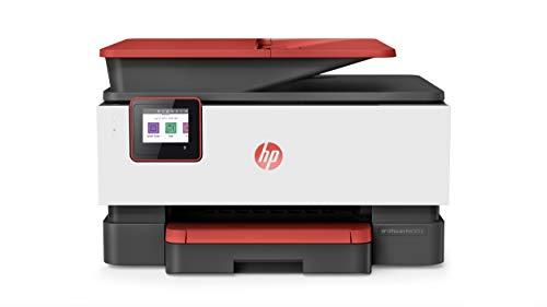 HP OfficeJet Pro 9016 Multifunktionsdrucker (Drucker, Scanner, Kopierer, Fax, WLAN, LAN, Duplex, HP Instant Ink, A4, HP ePrint, Airprint, mit 2 Probemonaten HP Instant Ink Inklusive) Coral