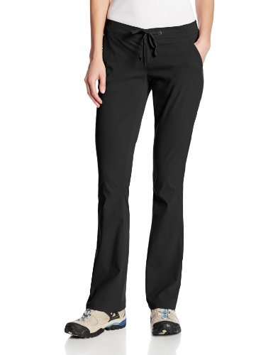 Columbia Women's Anytime Outdoor Boot Cut Pant Pants, black, 14Short