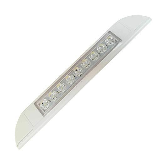 Marvix LED Markisenlicht 12V 24V Wasserdicht mit Touch-Schalter 256mm Weiß Streifen Lampe
