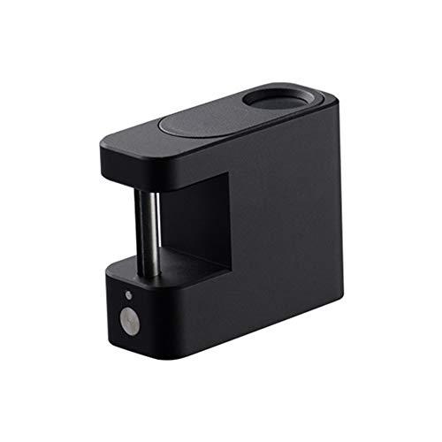 CBA BING Vingerafdruk hangslot, Smart Lock Anti-Diefstal Keyless Biometric Lock Security Lock USB opladen, Geschikt voor Huis Deur, Rugzak, enz
