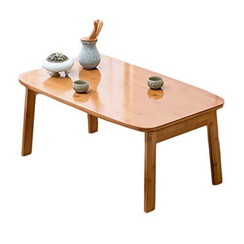 60 X 60 X 45cm Zerone Table Basse Avec Rangement En Bois
