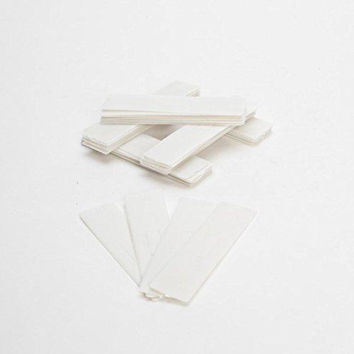 ToniTec 100x Verglasungsklötze Kunststoff Unterleger Glasklötze 100x24 1mm