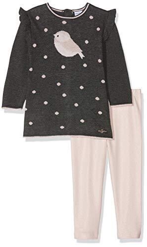 Absorba Baby-Mädchen 7p36481-ra Ens Robe Tricot Kleid, Orange (Mid Peach 313), 18-24 Monate (Herstellergröße: 18M)