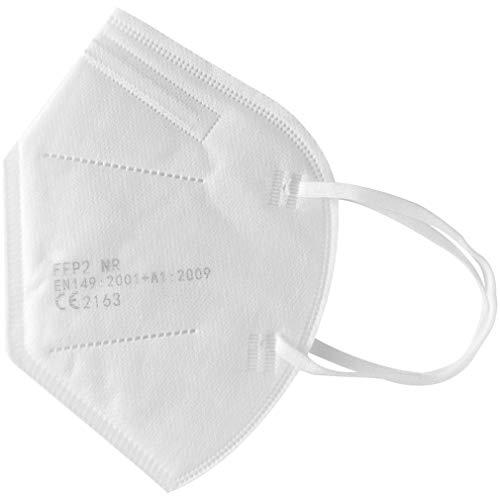 Atemschutzmaske FFP3 10 Stück mit CE Zertifizierung und Kopfband Schutz Maske Develle