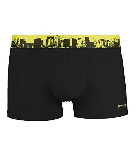 IMPETUS Herren Boxershorts Boxer Shorts Pants Unterhose Young 1218596, Farbe:Schwarz, Wäschegröße:L, Artikel:-020 Black