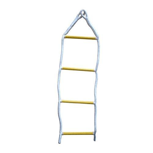 Escalera de Cuerda para Barco de Cuatro peldaños - Escalera náutica para embarcaciones -Todoneumaticas