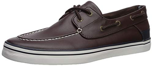 Nautica Tan and Navy Boys Canvas Shoes