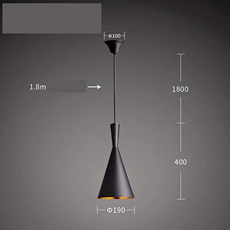 Scofeifei Plafonnier Noir Industriel en métal de Plafond de Lustre alluhommet la lumière pendentife de Plafond de LED rétro (Couleuré   C)
