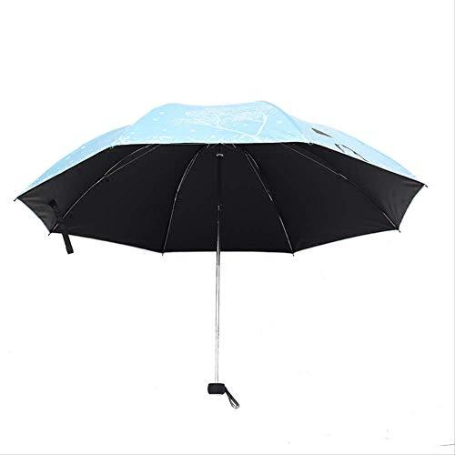taain Paraplu anti-uv-bescherming tegen de zon opvouwbare parasol