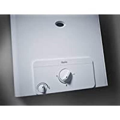 Hermann-Duval 0010023833 Calentador de Gas Opalia Low-Nox C11-1 GPL 11 l cámara Abierta Saunier Duval, Acero