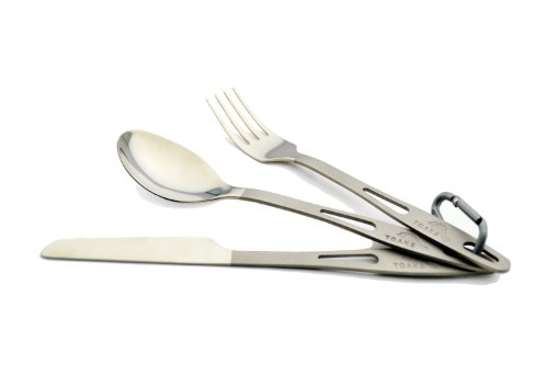 TOAKS Titanium 3-Pieces Cutlery Set