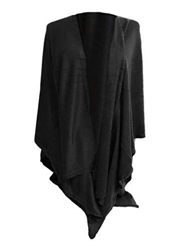 Simply Noelle Bordeaux Cardi Wrap (Black)