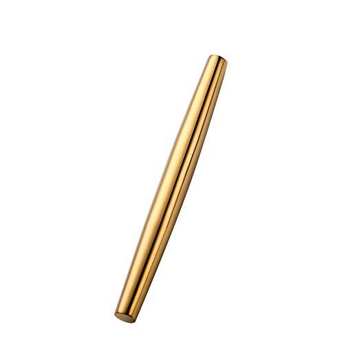 Root of all evil 304 Edelstahl Nudelholz Nudelholz Mehl Stick Knödel Haut Press Nudel Stick-Golden