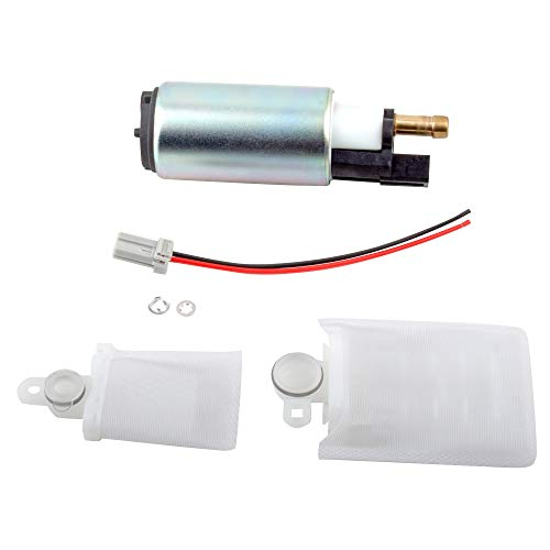 BOXI Electrical Fuel Pump High Perfitmance Kit Strainer Compatible with Ford Contour Escort Excursion F-250/350/450/550 Super Duty Focus Freestyle Mustang Taurus Continental Mercu-ry Montego E2312