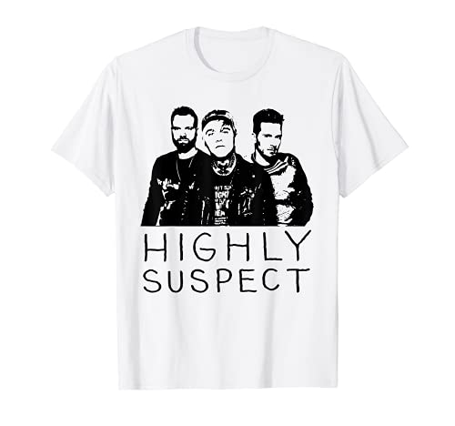 Retro Highly Design Art Suspect Outfits Band Music For Fans T-Shirt