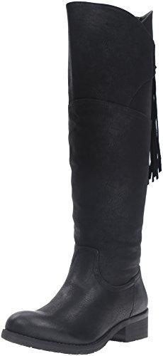 Very Volatile Women's Geneva Riding Boot, Black, 6 B US