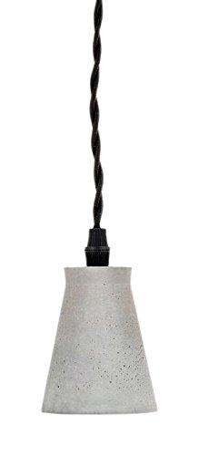 Kikkerland Cone Concrete Pendant lamp