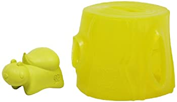 Outward Hound Kyjen 2454 Hide A Squirrel Extreme Dog Toys Interactive Rubber Squeak Toy Large Yellow