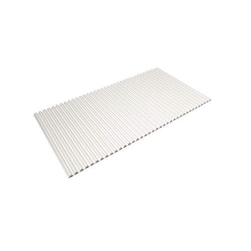 東プレ 風呂ふた シャッター式 イージーウェーブネオ 75×120cm ホワイト L12