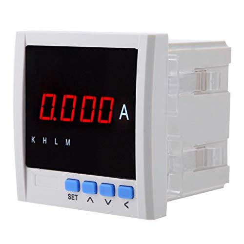 Amperímetro de CA Voltímetro Amperímetro de CA Amperímetro monofásico Pantalla digital monofásica programable Amperímetro de CA Edificio inteligente para automatización de distribución