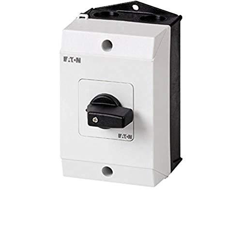 Eaton 207123 Umschalter, Kontakte: 6, 20 A, Frontschild: 1-0-2, 60 Grad, Rastend, Aufbau