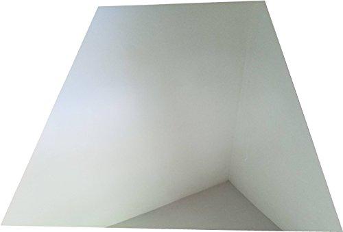 303mm x 456mm x 1mm Bidirektionaler transparenter Acrylspiegel