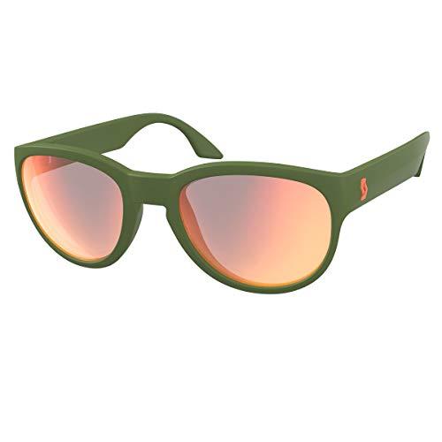 Scott Sway Sport Sonnenbrille grün/rot Chrom Amplifier