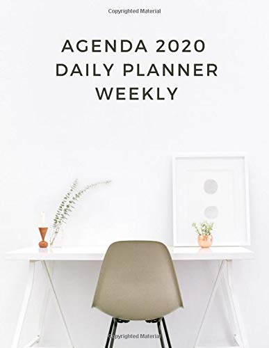 Agenda 2020 Daily Planner Weekly: Agenda 2018 daily planner student