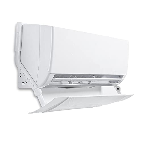 Watkings - Deflettore d'aria per condizionatore d'aria, alla moda per parabrezza (2021 telescopico ad angolo regolabile, facile da installare, robusto e facile da regolare