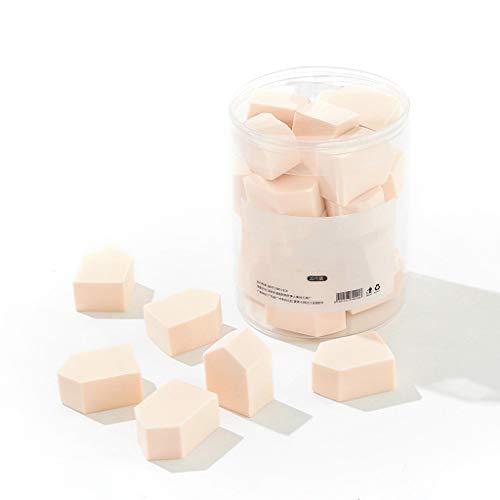 LEZDPP Chambre Éponge pentagonale Petite Jelly Beauté Egg Coussin Fond de Teint Liquide Humide et tampons de Coton Sec 20 Pièces (Color : E)