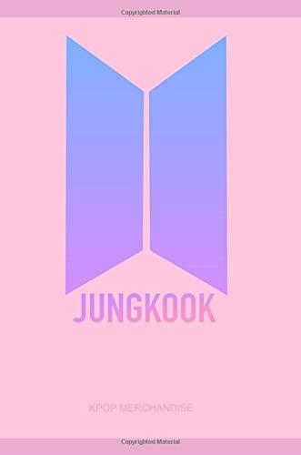 Jeon Jungkook BTS Love Yourself Logo Notebook Journal Diary: KPOP Notebook Journal
