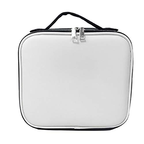 Cosmetic bag, large capacity portable multi-function shock-proof and pressure-resistant shoulder back and follow makeup can be put in a trolley case