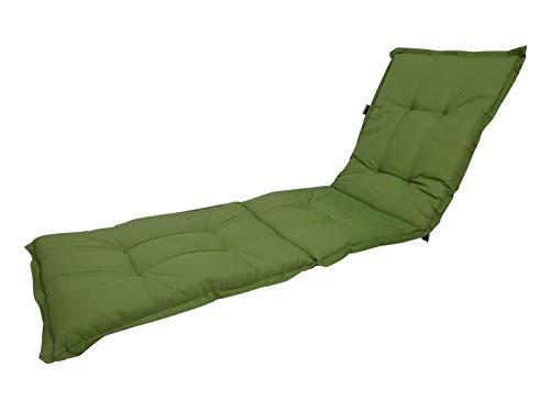 Madison 8 cm Luxus Rollliegenauflage A 044', Basic Green, 190 x 60 x 8 cm, Made IN Europe