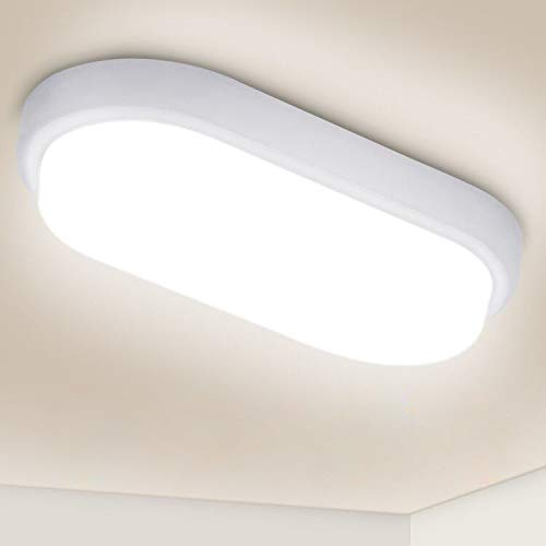 Oeegoo 12W LED Deckenleuchte Bad, IP54...
