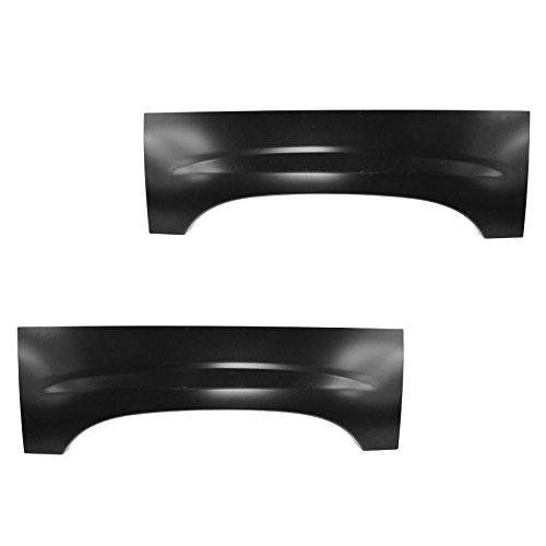 Wheel Arch Repair Panel Upper Rear Pair Set of 2 for Chevy Silverado...